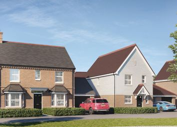 Thumbnail 3 bed detached house for sale in Main Road, Nutbourne, Chichester