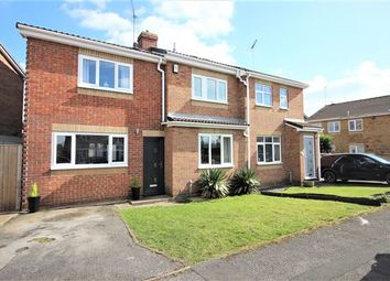 Thumbnail 3 bed semi-detached house for sale in High Hoe Drive, Worksop, Nottinghamshire