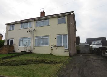 Thumbnail 3 bed semi-detached house for sale in South Drive, Llantrisant, Pontyclun