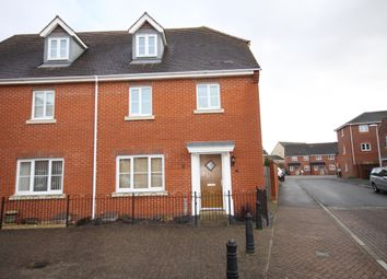 Thumbnail 4 bed semi-detached house to rent in Rotary Way, Thatcham