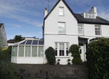 Thumbnail 4 bed semi-detached house for sale in Ffordd Dewi Sant, Nefyn, Pwllheli, Gwynedd