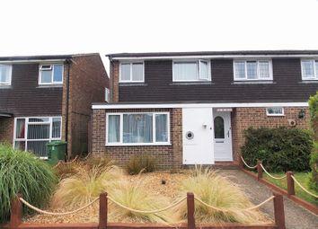 Thumbnail 3 bedroom semi-detached house for sale in The Fells, Tilehurst, Reading