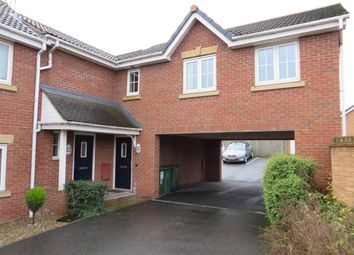 Thumbnail 1 bed maisonette to rent in Tuffleys Way, Braunstone, Leicester