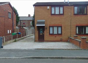 Thumbnail 2 bed semi-detached house to rent in Longford Street, Gorton, Manchester