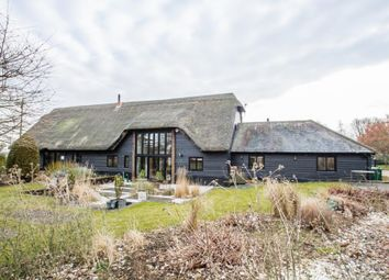 Thumbnail 4 bedroom barn conversion for sale in Long Lane, Fowlmere, Royston, Cambridgeshire