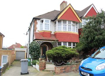 Thumbnail 3 bed semi-detached house for sale in Rosecroft Gardens, Dollis Hill