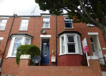 Thumbnail 3 bedroom terraced house for sale in Porthkerry Road, Barry