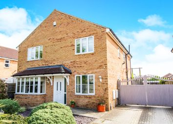 Thumbnail 4 bed detached house for sale in St. Vincents Close, Deeping St. James, Peterborough