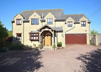 Thumbnail 5 bedroom detached house for sale in The Green, Roade, Northampton