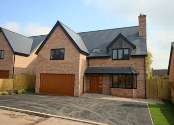 Thumbnail 5 bed detached house for sale in Pear Tree Croft, Norton-In-Hales, Market Drayton