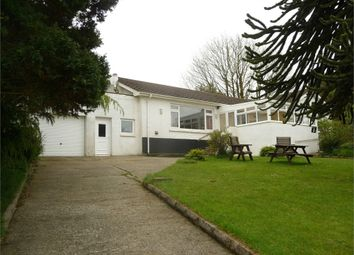 Thumbnail 4 bed detached bungalow for sale in Penskyber Fawr, Letterston, Haverfordwest, Pembrokeshire