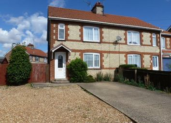 Thumbnail 3 bed semi-detached house to rent in Paradise Road, Downham Market
