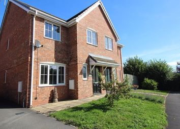 Thumbnail 3 bed detached house to rent in Meadow View, Willaston, Nantwich