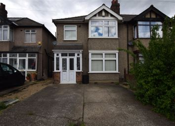 Thumbnail 3 bed semi-detached house for sale in Brentwood Road, Romford