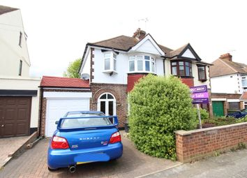 Thumbnail 4 bedroom semi-detached house for sale in Priory Road, Gillingham, Kent.