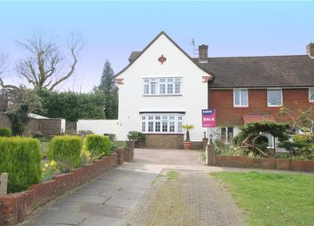 Thumbnail 4 bedroom end terrace house for sale in Upland Way, Epsom