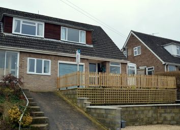 Thumbnail 3 bed semi-detached house for sale in Castlemead Road, Rodborough, Stroud, Gloucestershire