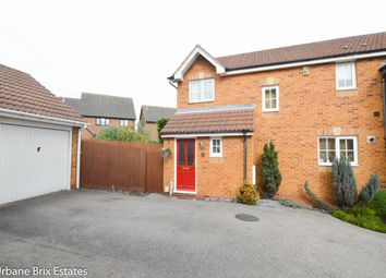 Thumbnail 3 bed semi-detached house for sale in Harvest Lane, Stevenage