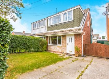 Thumbnail 3 bed semi-detached house for sale in Brookhouse Close, Hoghton, Preston