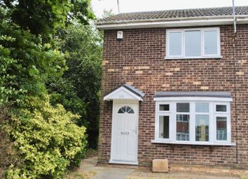 Thumbnail 2 bed end terrace house for sale in Lowlands Close, Kessingland, Lowestoft