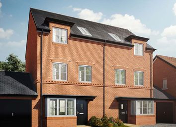 """Thumbnail 4 bed town house for sale in """"The Pilsgate"""" at Holden Close, Biddenham, Bedford"""