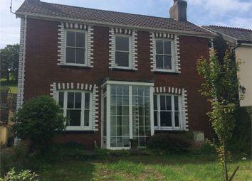 Thumbnail 3 bed detached house for sale in Llan Road, Cwmfelin, Maesteg, Mid Glamorgan