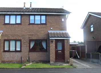 Thumbnail 2 bed semi-detached house for sale in Tyne Close, Thatto Heath, St. Helens