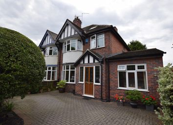 Thumbnail 4 bed semi-detached house for sale in Gipsy Lane, Leicester