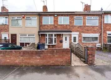 Thumbnail 3 bed terraced house to rent in Burton Avenue, Doncaster