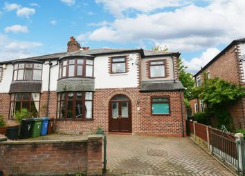 Thumbnail 4 bedroom semi-detached house for sale in Carlton Drive, Gatley, Cheadle