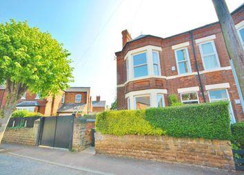 Thumbnail 4 bedroom semi-detached house to rent in Melbourne Road, West Bridgford, Nottingham