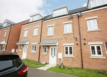 Thumbnail 3 bed town house for sale in Ridley Gardens, Shiremoor, Newcastle Upon Tyne