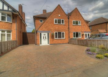 Thumbnail 3 bed semi-detached house for sale in Greengate Lane, Birstall, Leicester