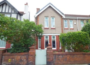 Thumbnail 4 bed semi-detached house for sale in Woodville Avenue, Crosby, Liverpool