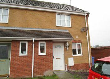 Thumbnail 2 bedroom semi-detached house to rent in Regan Close, Lowestoft