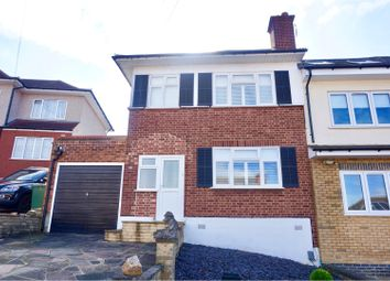 Thumbnail 3 bed semi-detached house for sale in Larchwood Close, Romford