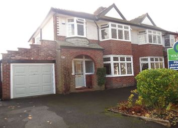 Thumbnail 3 bed semi-detached house for sale in Yewlands Avenue, Fulwood, Preston
