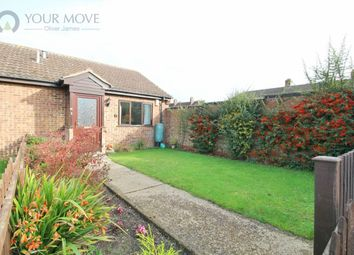 Thumbnail 1 bed bungalow for sale in Russet Close, Beccles