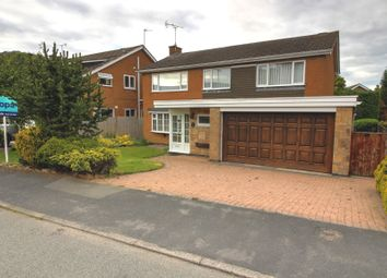 Thumbnail 4 bedroom detached house for sale in Ilminster Close, Burbage, Hinckley
