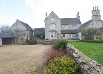 Thumbnail 6 bed farmhouse for sale in Upper North Wraxall, Wiltshire