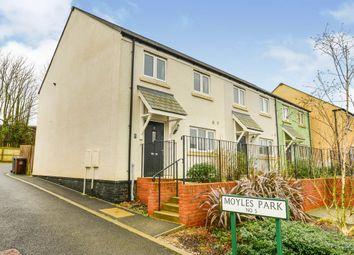 Thumbnail 3 bed end terrace house for sale in Moyles Park, Modbury, Ivybridge