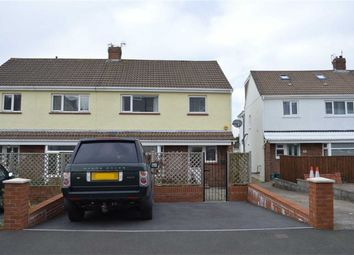 Thumbnail 3 bed semi-detached house for sale in Overland Close, Mumbles, Swansea