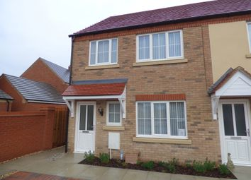 Thumbnail 3 bed end terrace house to rent in Galba Road, Caistor, Market Rasen