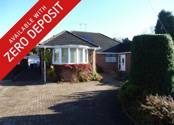 Thumbnail 3 bed bungalow to rent in Elmwood Close, Balsall Common, Coventry
