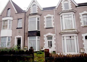 Thumbnail 4 bed terraced house for sale in Gwydr Crescent, Swansea, West Glamorgan