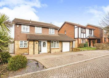 Thumbnail 4 bedroom detached house to rent in Willow Road, Larkfield, Aylesford
