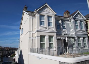 Thumbnail 3 bed maisonette for sale in Wolseley Road, Plymouth