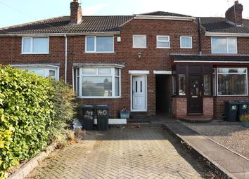 Thumbnail 3 bed terraced house to rent in Wolverton Road, Rednal