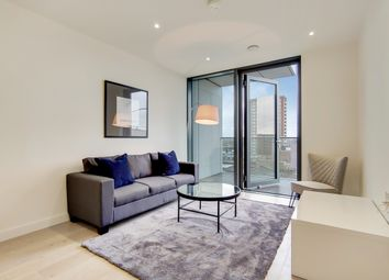 Thumbnail 1 bed flat to rent in City North Place, London