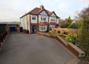 Thumbnail 3 bed semi-detached house for sale in Bretby Lane, Bretby, Burton-On-Trent